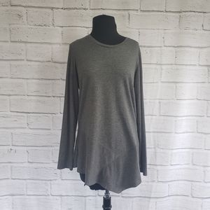 Logo Lounge French Terry knit top rib